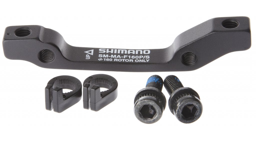 Shimano Adapter VR 160mm Rotor von Post-Mount auf ISO-Standard SM-MA-F160P/S