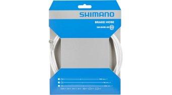 Shimano Bremsleitung 1700mm Gerade-/Banjo-Anschluss weiß SM-BH90-SB für XTR, XT, SLX, Alfine