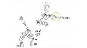SRAM Hydraulic 碟刹 Brake Brems鞍座anschluss Non-Connectamajig (适用于 Red 22/Force 22/Force 1/Rival 22/Rival 1/Apex 1/S-700)