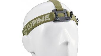 Lupine cinta para poner en la frente para Piko/Piko R con FastClick Akkubefestigung (para 1500/1800 Lumen modelos)