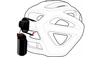 Specialized Stix attacco al casco nero