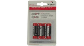 Sigma Sport rechargeable battery- set 4x2100mAh Ni-Mh Smilux/Pava