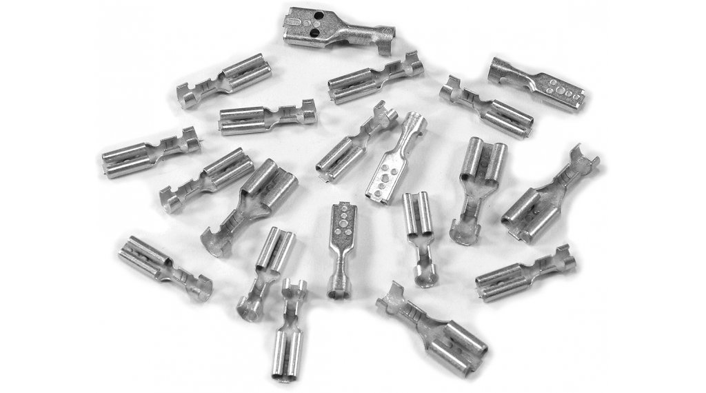 SON Flachsteckhülse 2,8x0,5mm Messing verzinnt unisoliert