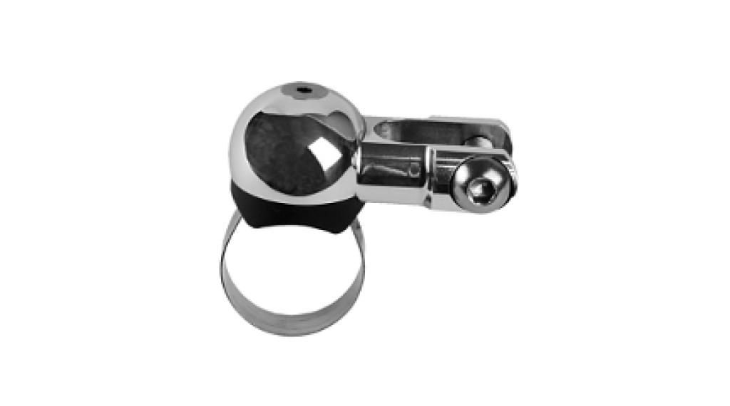 SON Scheinwerferhalter Schmidt delux Alu gefräst bis 31.8mm Lenkerdurchmesser poliert