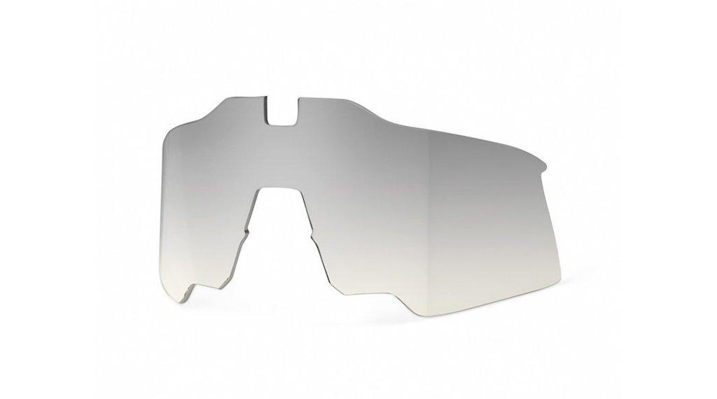 100% Speedcraft Air ricambioglas low-light yellow silver (Mirror-lens)