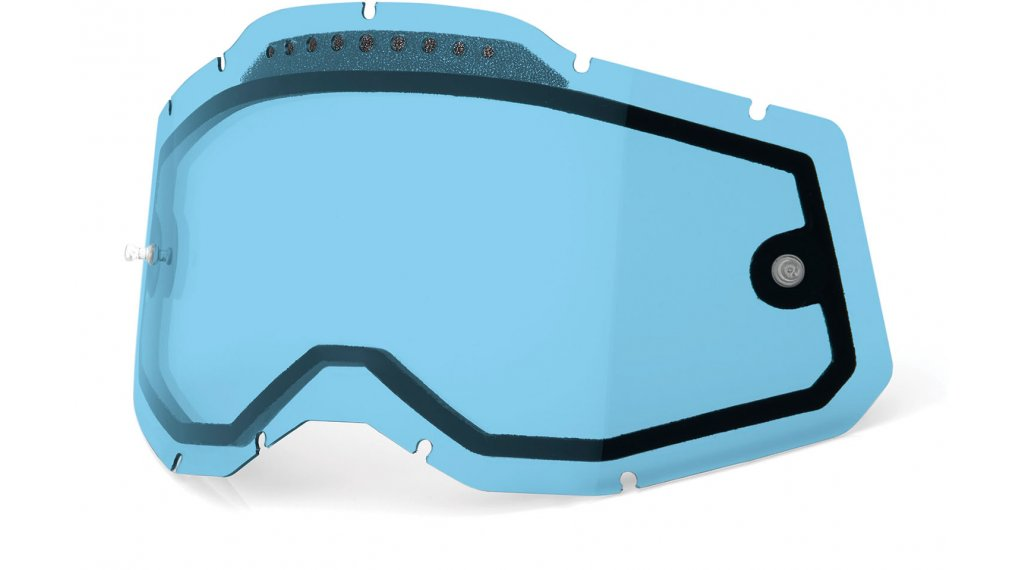 100% Gen. 2 Vented Dual Clear Goggle-lente di ricambio mis.  unisize  blu