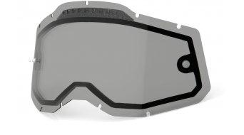 100% Gen. 2 Vented Dual Clear Goggle-lente di ricambio mis.  unisize  smoke
