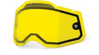 100% Gen. 2 Vented Dual Clear Goggle-lente di ricambio mis.  unisize  giallo