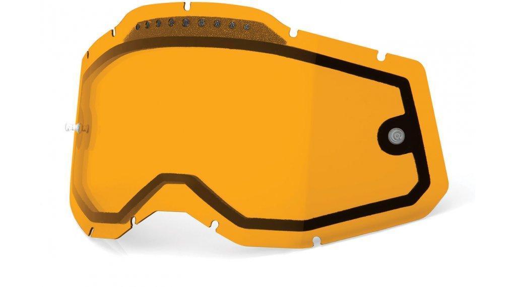 100% Gen. 2 Vented Dual Clear Goggle-lente di ricambio mis.  unisize  persimmon