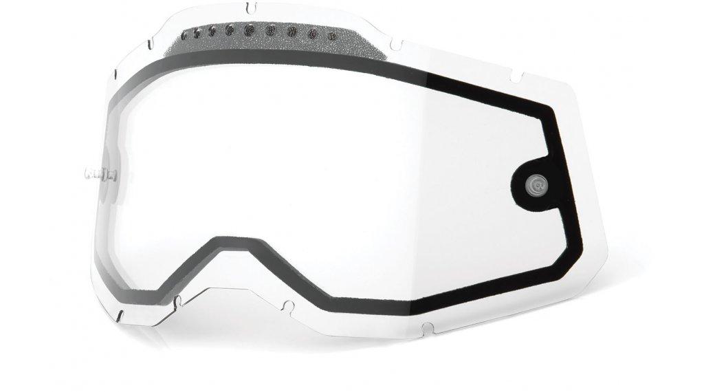 100% Gen. 2 Vented Dual Clear Goggle-lente di ricambio mis.  unisize  clear