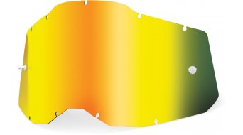 100% Gen. 2 Mirror kids/Youth Goggle-replacement glass unisize