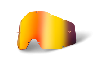 100% Vented dual Mirror Goggle-replacement glass (Anti-Fog Mirror Lens)