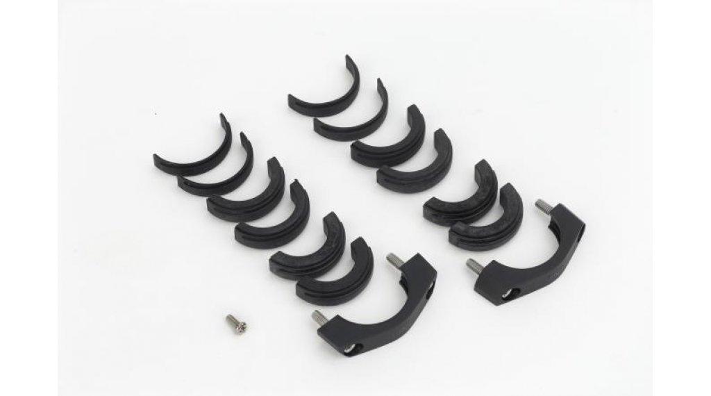 Bosch Montage-Kit für Displayhalter für Intuvia und Nyon Schellen, 1 Blockierschraube, 3 x 4 Distanzgummis (31,8 mm, 25,4 mm und 22,2 mm)