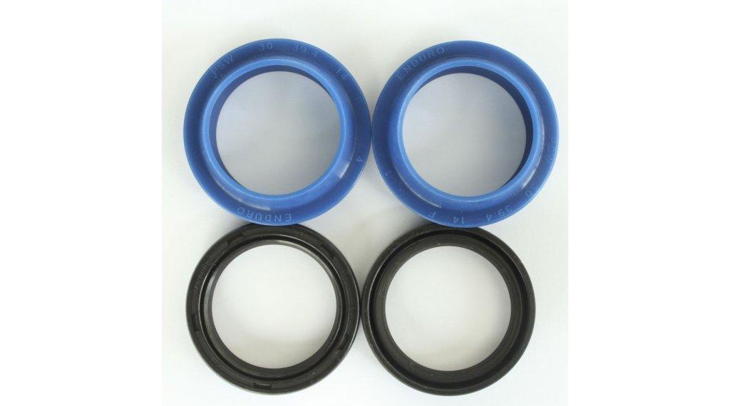 Enduro Bearings FK 6602 Federgabeldichtungs Kit Manitou 分钟/R-Seven/Black 30mm