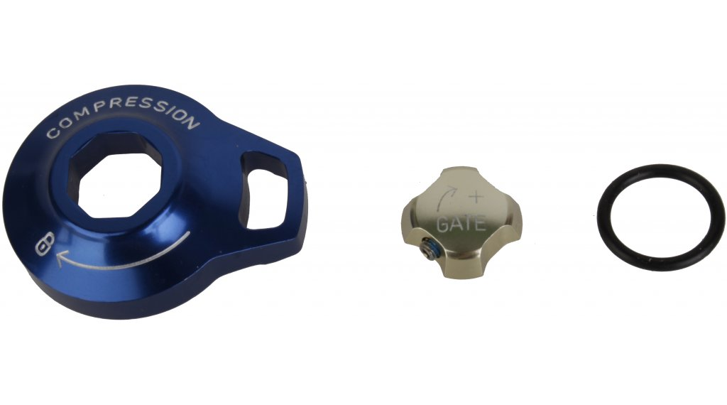 Rock Shox Federgabel Einstellknopf Motion Control External Gate/Knob Alu SID Reba Revelation