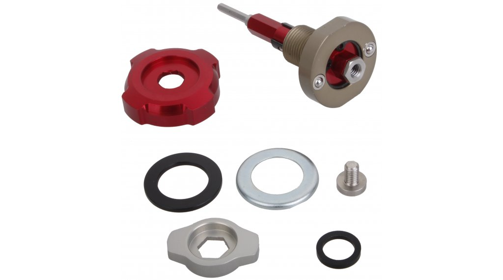 Rock Shox Federgabel Einstellknopf Rebound Damper Bottom Bolt/Adjust Knob 2010-2012 Boxxer