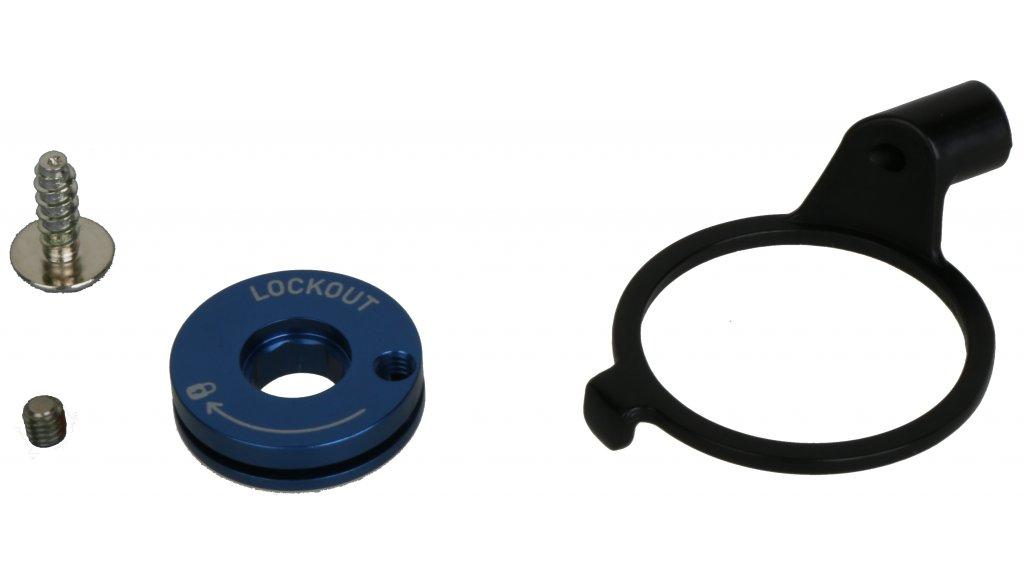 Rock Shox Federgabel Einstellknopf Remote Spool and Clamp Kit 2013, XC32/Recon Silver