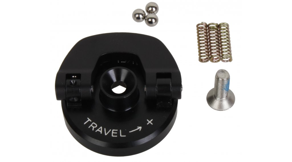 Rock Shox Federgabel Einstellknopf U-Turn Travel Adjuster Knob Aluminum (Coil) Lever