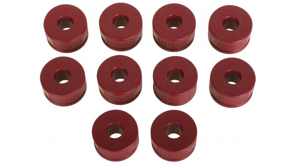 Rock Shox Bottomless Token Luftkammer-Spacer PIKE/Lyrik B1/Yari Dual Position Air 35mm 10 Stk rot