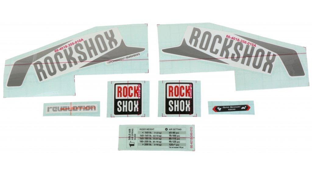 Rock Shox Suspension Fork Stickerdecals 09 Tora 289 302 318