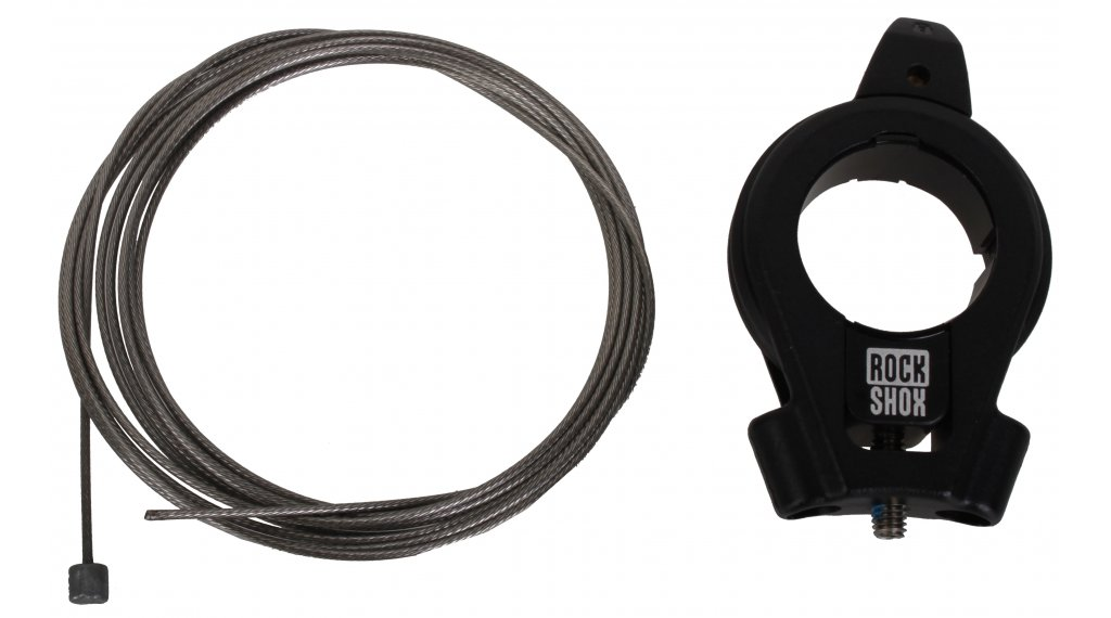 Rock Shox Fernbedienung 17mm Kabelzug Dual PopLoc Hebel für Dämpfer und Gabel (gleichzeitig)