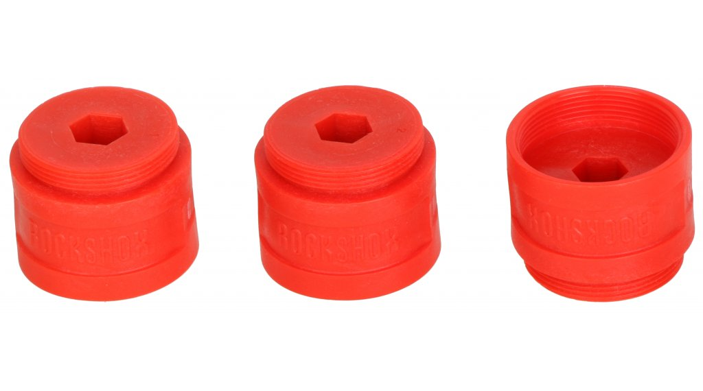 Rock Shox Bottomless Token Luftkammer-Spacer PIKE/BoXXer B1/Lyrik B1/Yari Solo Air 35mm 3 Stk grau
