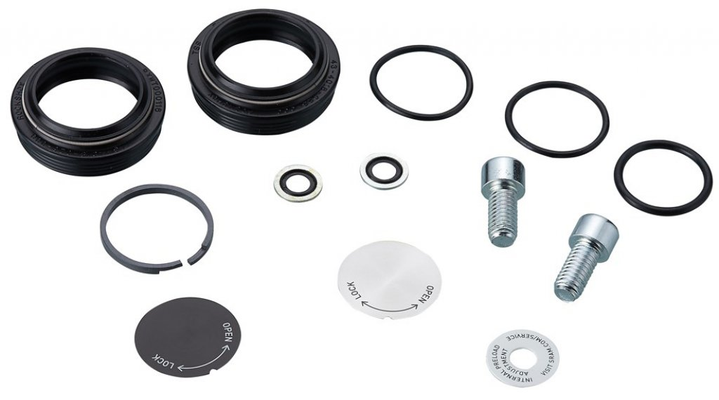 RockShox Federgabel Service Kit (Basic) Paragon Silver A1