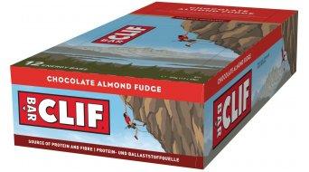 Clif Bar Riegel Chocolate Almond Fudge (Schoko-Mandel) Box mit 12*68g-Riegel