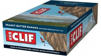 Clif Bar Riegel Peanut Butter Banana (Banane-Schoko) Box mit 12*68g-Riegel