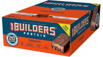 Clif Bar Builder`s Protein Bar Chocolate (Schokolade) Box mit 12*68g-Riegel