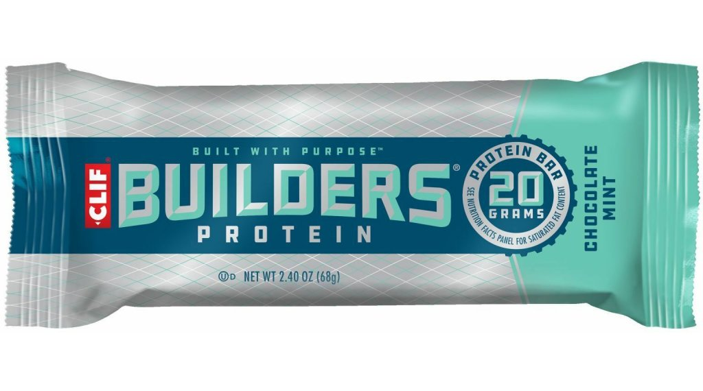 Clif Bar Builder`s Protein Bar Chocolate Mint (Schokolade-Minze) 68g-Riegel
