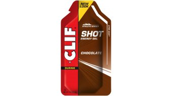 Clif Shot gel Chocolate (čokoláda)