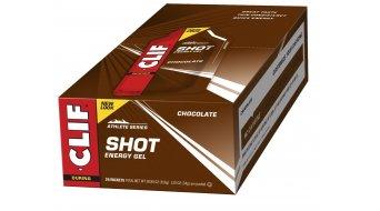 Clif Shot Gel Chocolate (Schokolade) Box mit 24*34g-Beutel