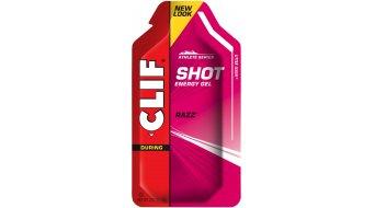 Clif Shot gel Razz (malina, malinový)