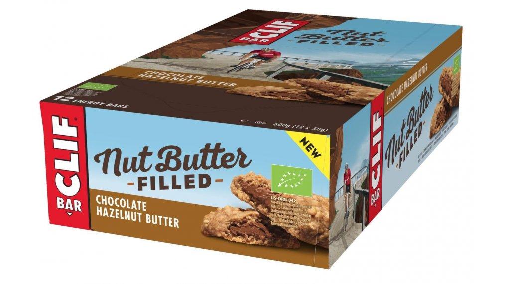 Clif Bar Nut Butter Filled Riegel Chocolate Hazelnut Butter (Schokolade-Haselnuss) Box mit 12*50g-Riegel