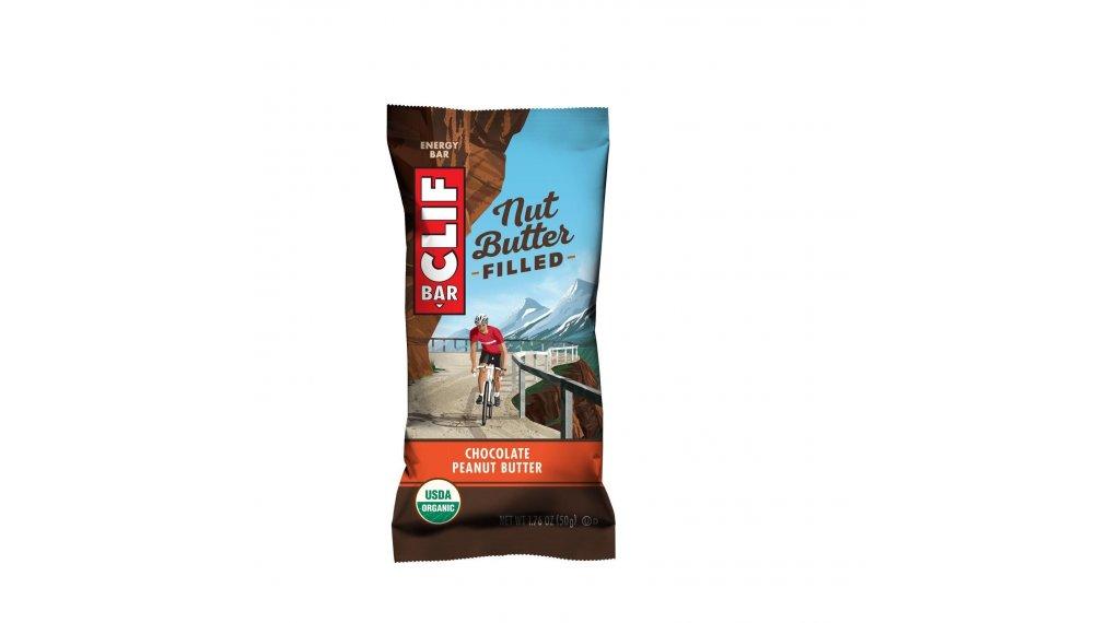 Clif Bar Nut Butter Filled Riegel Chocolate Peanut Butter (Schokolade-Erdnussbutter) 50g-Riegel