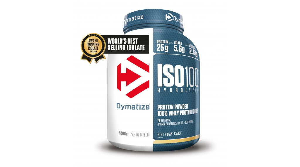 Dymatize Iso 100 Molkeprotein Powder 22kg Canister