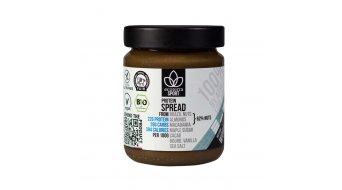 Ecoterra Sport Protein couleur crème vegan noix-chocolat bio fair trouee 250g- verre