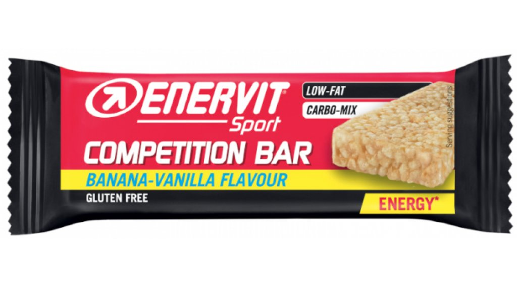 Enervit Sport Competition Bar Banana/Vanilla 30g- barra (glutenfrei)