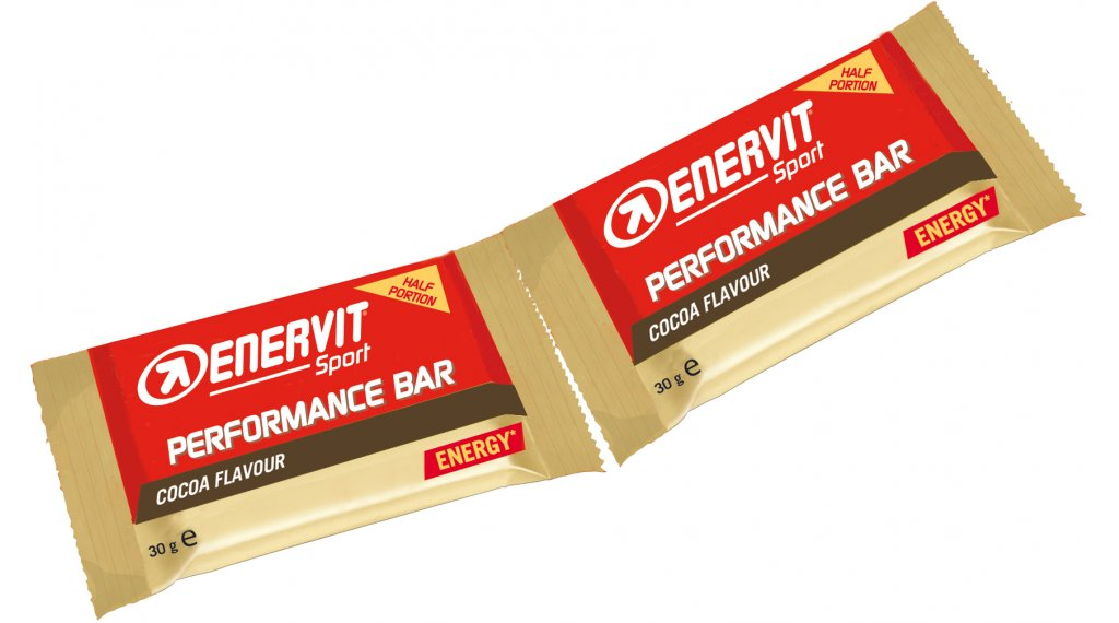 Enervit Sport Performance Bar Cocoa Box mit 28*2*30g-Riegel
