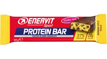 Enervit Sport Protein Bar Banana Split 37% Box 有25*54克-能量棒 (glutenfrei)
