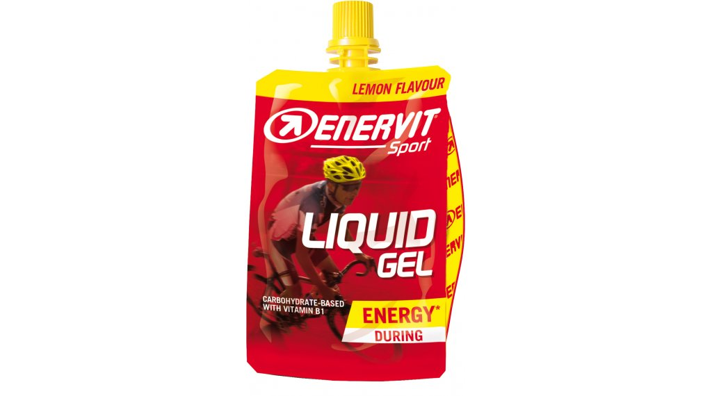 Enervit Sport Liquid Gel Lemon 60ml-Beutel