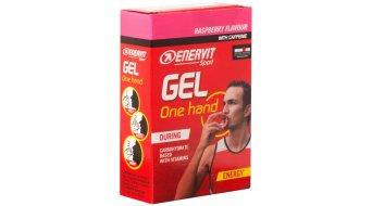 Enervit Sport One Hand Gel Raspberry 6*12.5ml-Beutel (mit Koffein)