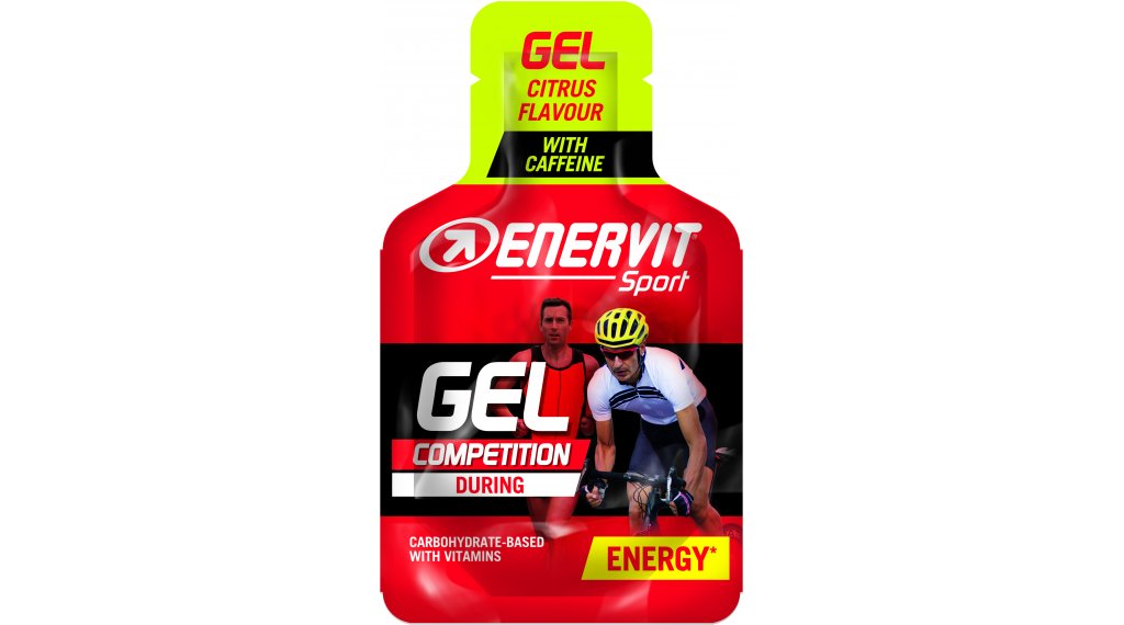 Enervit Sport Gel Citrus Box mit 24*25ml-Beutel (mit Koffein)