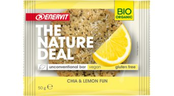 Enervit Sport Nature Deal UncBar Chia & Lemon Box mit 12*50g-Riegel