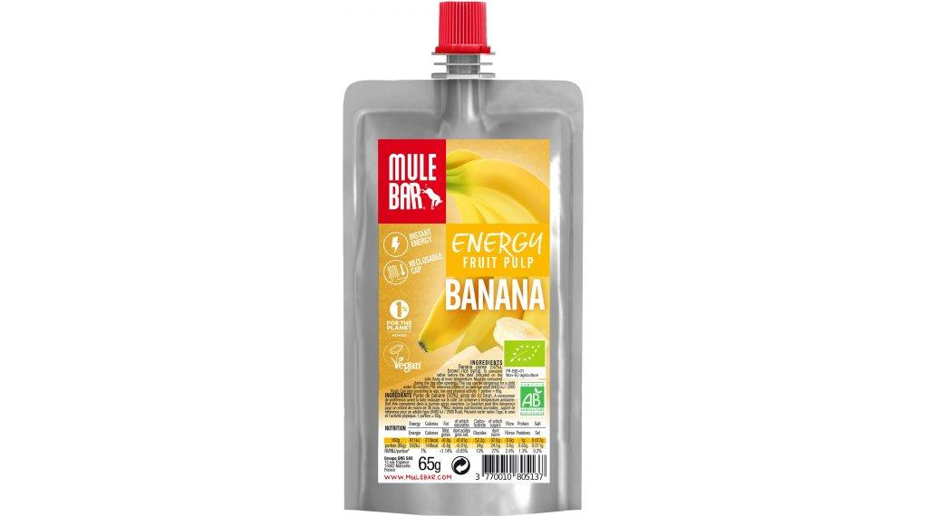 MuleBar Fruit Pulp Banana (Banane) 65g-Beutel