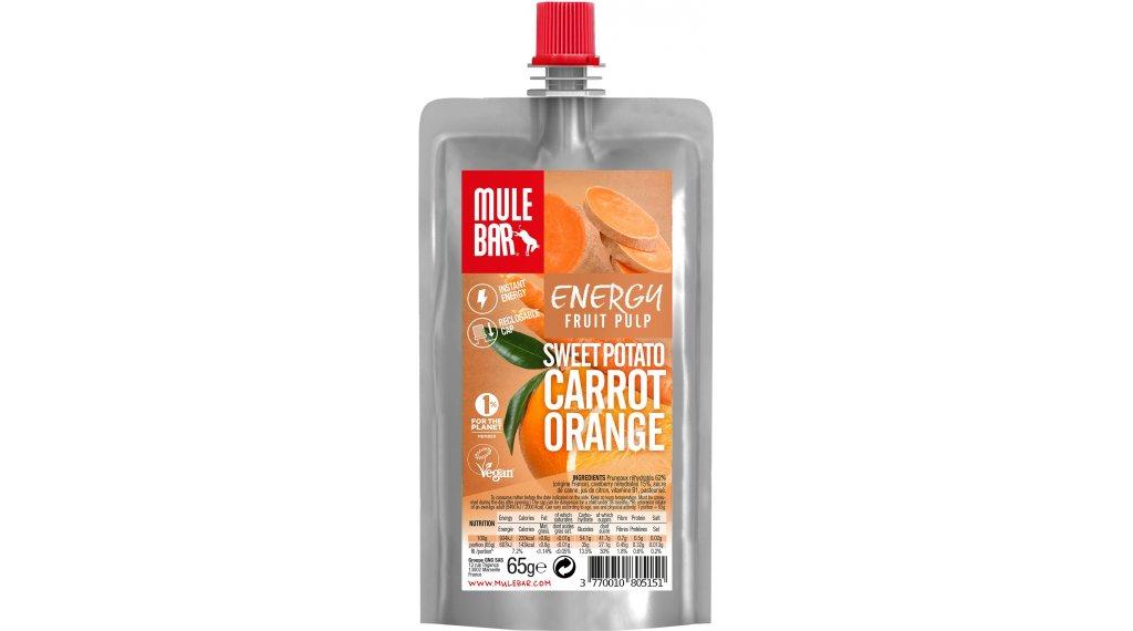 MuleBar Fruit Pulp Sweet Potato Carrot Orange (Süßkartoffel/Karotte/Orange) 65g-Beutel