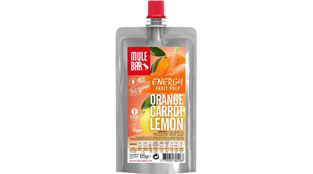 MuleBar Fruit Pulp Orange Carrot Lemon (Orange/Karotte/Zitrone) 65g-Beutel