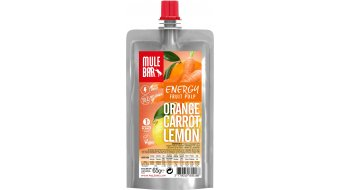MuleBar Fruit Pulp Orange Carrot Lemon (Orange/čtyřhrannýtte/Zitrone)