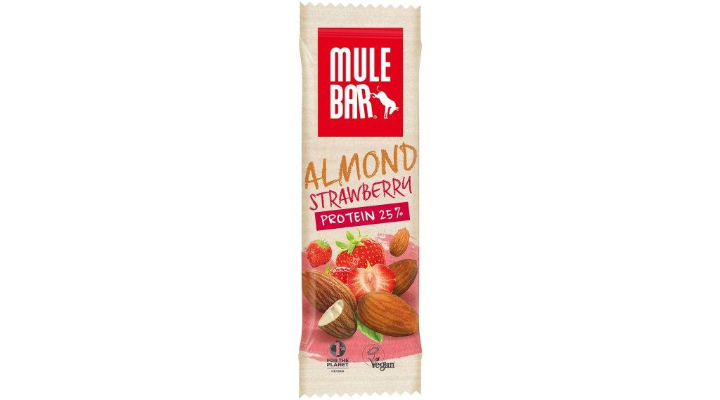 MuleBar ReFuel Protein Almond Strawberry (Mandel/Erdbeere) vegan 42g-Riegel